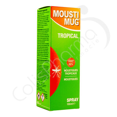 Moustimug Tropical Spray 30% DEET - 100 ml