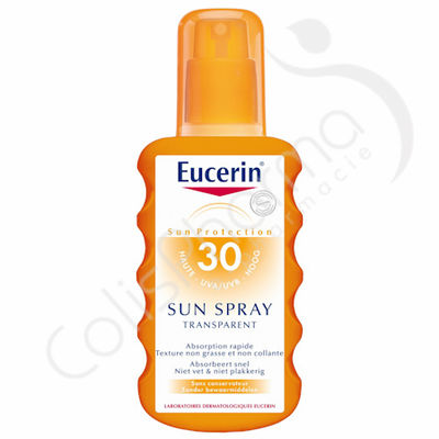 Eucerin Solaire Sun Spray Transparent SPF 30