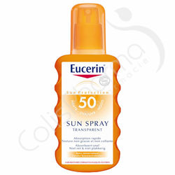 Eucerin Solaire Sun Spray Transparent SPF 50