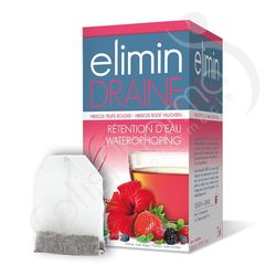 Elimin Draine Fruits Rouges - 20 sachets