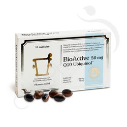 BioActive Q10 50 mg - 20 capsules