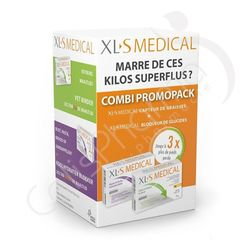 XLS Medical Pack Capteur de Graisses + Bloqueur de Glucides
