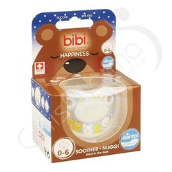 "Bibi - Sucette ""Happiness Glow"" 0 - 6 mois"