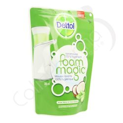 Dettolhygiene - Recharge de savon Foam Magic Aloe Vera + Coco Splash