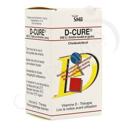 D-Cure 2400 - Solution buvable 10ml