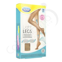Scholl Light Legs 20D Large Beige