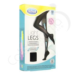 Scholl Light Legs 60D Large Black
