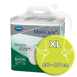 Molicare Mobile 5 Gouttes Extra Large