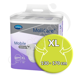 Molicare Mobile 8 Gouttes Extra Large