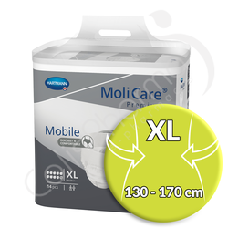 Molicare Mobile 10 Gouttes Extra Large