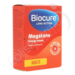 Biocure Megatone Long Action - 30 comprimés