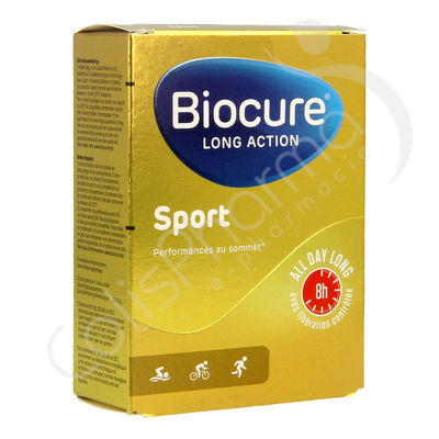 Biocure Sport Long Action - 30 comrpimés