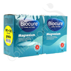 Biocure Magnésium Long Action - Promo Pack