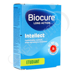 Biocure Intellect Long Action Etudiant - 40 comprimés
