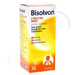 Bisolvon Sirop 8 mg/5 ml - 200 ml