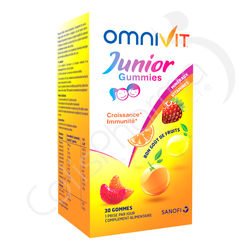 Omnivit Junior Gummies - 30 gommes