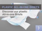 Plastic All-in-one Briefs