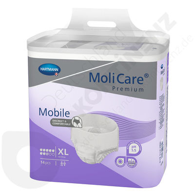 Molicare Mobile 8 Drops - XL