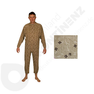 Sleepsuit Hoedic Brown Jed - 54/56