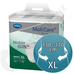Molicare Mobile 5 tropfen - Extra Large