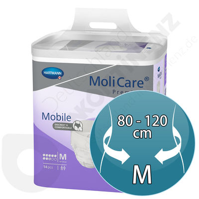 Molicare Mobile 8 Tropzen - MEDIUM