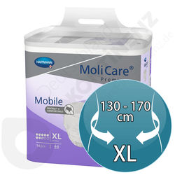 Molicare Mobile 8 Tropfen - Extra Large