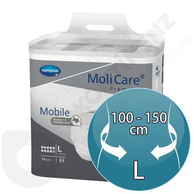 Molicare Mobile 10 Drops - LARGE