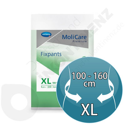 Molicare Fixpants 5 Pieces - XL