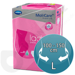 Molicare Lady Pants 5 Tropfen - LARGE