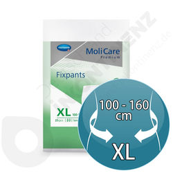 Molicare Fixpants 25 Pieces - XL