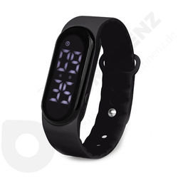 Buddy Vibrate Watch Black