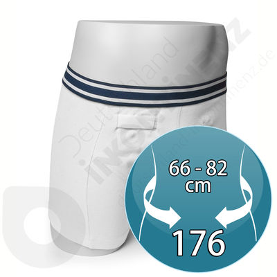 White Rodger Sensor Boxer for Boy - Size 176