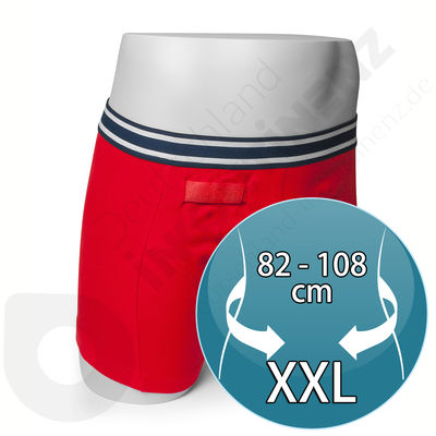 Red Rodger Sensor Boxer for Man - Size XXL