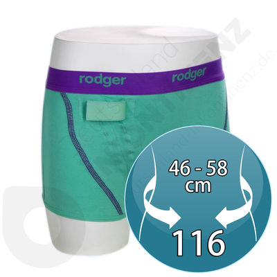 Green Rodger Sensor Hipster for Girl - Size 116