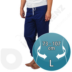 PJAMA Long Pyjamas for Adult Incontinence - LARGE