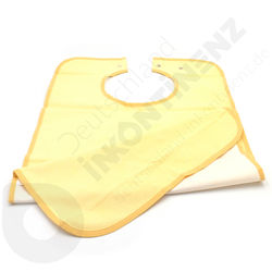 Washable Waterproof Yellow Bib