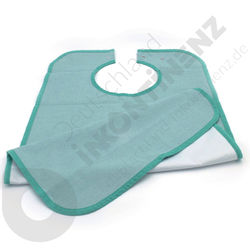 Washable Waterproof Green Bib