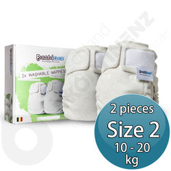 Bambinex Washable Diapers for Babies / Kids 2p - Size 2