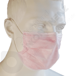 Surgical face masks - Type IIR - Pink