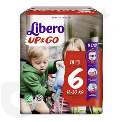 Libero Up & Go 6
