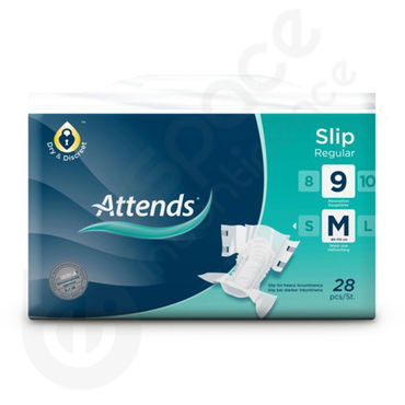 Attends Slip Regular 9 - Medium