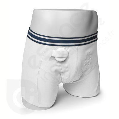 Boxer Homme Blanc Rodger - Taille L