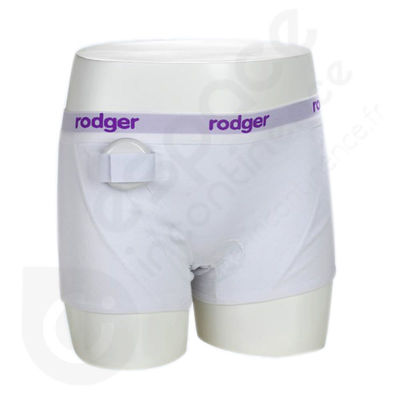Shorty Fille Blanc Rodger - Taille 176