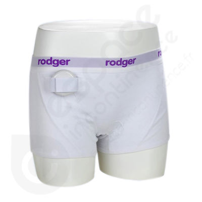 Shorty Fille Blanc Rodger - Taille L
