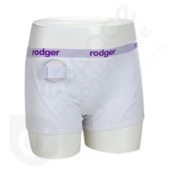 Shorty Femme Blanc Rodger - Taille L