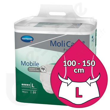 Molicare Mobile 5 Gouttes - LARGE