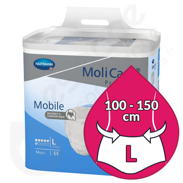 Molicare Mobile 6 Gouttes - LARGE