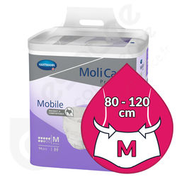 Molicare Mobile 8 Gouttes - MEDIUM
