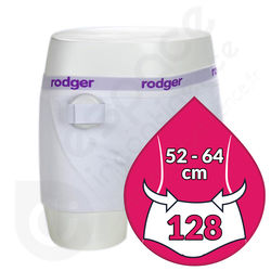 Shorty Fille Blanc Rodger - Taille 128