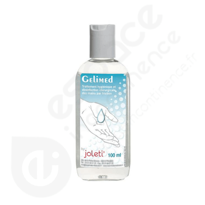 Gelimed - Gel hydroalcoolique 100 ml